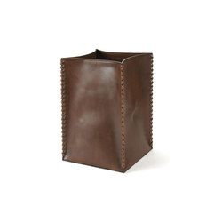 Leather Waste Bin | Waste baskets | Pfeifer Studio