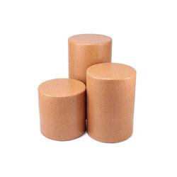 Solid Cork Round Tables | Beistelltische | Pfeifer Studio