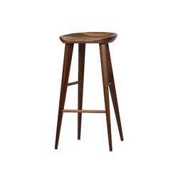 High Ball Walnut Bar Stool | Sgabelli bar | Pfeifer Studio