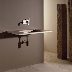 Floating Vanity, Travertino Romano | Wash basins | Stone Forest