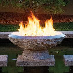 Helios Fire Vessel | Garden fireplaces | Stone Forest