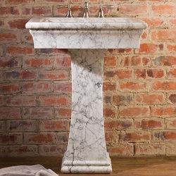 Medium Bordeaux Pedestal Sink | Lavabos | Stone Forest