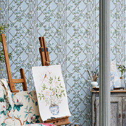 Jasmine Lattice | Carta da parati | Zoffany