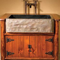 Natural Edge Wood Countertops | Waschplätze | Stone Forest