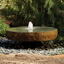 Natural Millstone Fountain | Fountains | Stone Forest