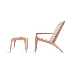 Gisele Lounge Chair / Footstool | Sessel | Sossego