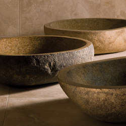 Pebble Vessel Sink | Lavabos | Stone Forest