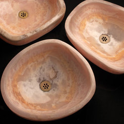Pink Onyx Wabi Vessel | Wash basins | Stone Forest