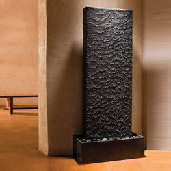Ribbed Waterwall | Indoor fountains | Stone Forest