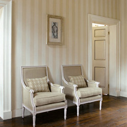 Linen Stripe | Wall coverings / wallpapers | Zoffany