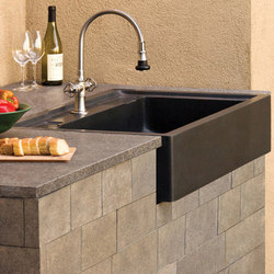 Salus Outdoor Kitchen Sink | Cocinas de jardín | Stone Forest