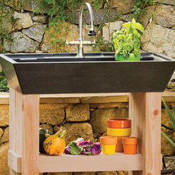 Salus Potting Sink | Outdoor kitchens | Stone Forest