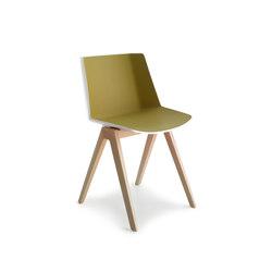 Aïku | Restaurant chairs | MDF Italia