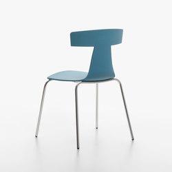 Remo Plastic Stuhl blue avion | Stühle | Plank
