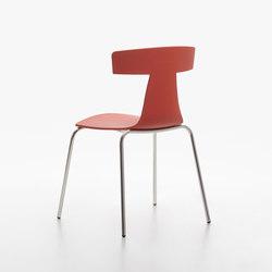 Remo Plastic Stuhl coral red | Stühle | Plank