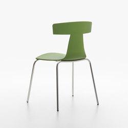 Remo Plastic Stuhl fern green | Stühle | Plank