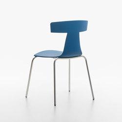 Remo Plastic Stuhl green blue | Stühle | Plank