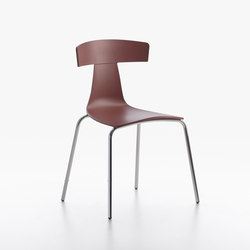 Remo Plastic Chair oxide red | Sillas | Plank