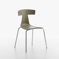 Remo Plastic Stuhl yellow grey | Stühle | Plank