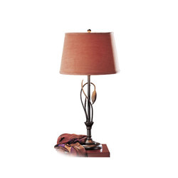 Forged Leaves and Vase Table Lamp | General lighting | Hubbardton Forge