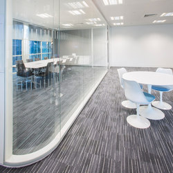 Individual solutions | Glass dividing walls | INTEK