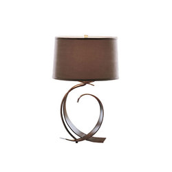 Fullered Impressions Table Lamp | General lighting | Hubbardton Forge