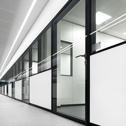 MFT wall | Noise absorbing glass | INTEK