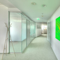 PR wall | Noise absorbing glass | INTEK