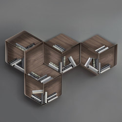 Pangea | Wall shelves | Tonin Casa