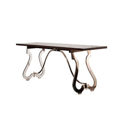 Piazza Bar Table | Mesas altas | Powell & Bonnell