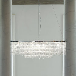 Santena | Ceiling lights in glass | Tonin Casa