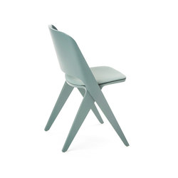 Lavitta chair grey teal, upholstered | Visitors chairs / Side chairs | Poiat