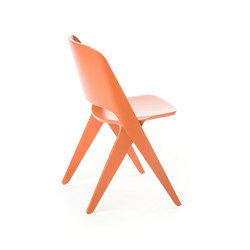 Lavitta chair copper orange | Chaises polyvalentes | Poiat