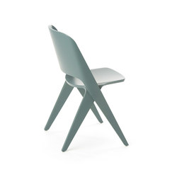 Lavitta chair grey teal | Sedie multiuso | Poiat