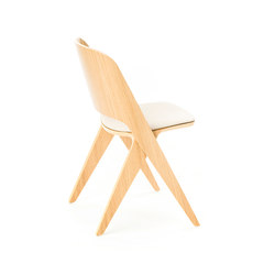 Lavitta chair soft oak, upholstered | Besucherstühle | Poiat