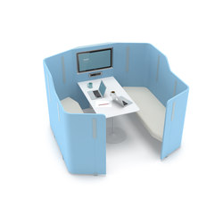 Isola Meeting Panel | Hotdesking / temporary workspaces | Nurus