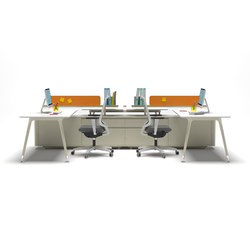 U too Double Desk | Escritorios | Nurus