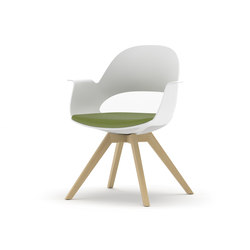 Alava on Wooden Base | Visitors chairs / Side chairs | Nurus