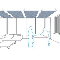 Akustika | 25 Suspended | Suspended ceilings | FilzFelt