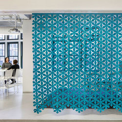 Bloomx | Sound absorbing suspended panels | FilzFelt