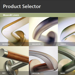 Decorative Hardware Product Selector | Maniglie | Corbin Russwin