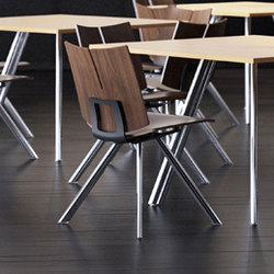 Quanta | Visitors chairs / Side chairs | Versteel