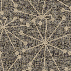 World Woven Mod Café - Star Charcoal | Quadrotte / Tessili modulari | Interface