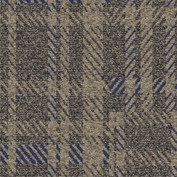World Woven Scottish Sett - Plaid Charcoal | Quadrotte / Tessili modulari | Interface