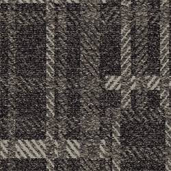 World Woven Scottish Sett - Plaid Black | Quadrotte / Tessili modulari | Interface