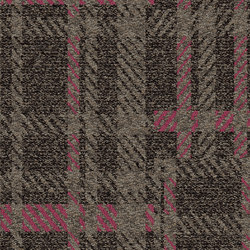 World Woven Scottish Sett - Plaid Brown | Teppichfliesen | Interface