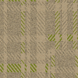 World Woven Scottish Sett - Plaid Raffia | Quadrotte / Tessili modulari | Interface