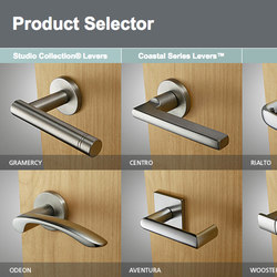Decorative Hardware Product Selector | Poignées | SARGENT