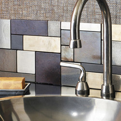 Tile backsplash | Azulejos de pared | Rocky Mountain Hardware
