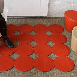 Polka | 90 Floor Mat | Rugs / Designer rugs | FilzFelt